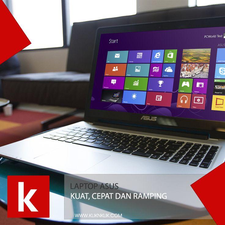Sudah cek produk Asus kliknklik.com? Cek sekarang banyak sekali potongan harganya loh ➡➡ https://kliknklik.com/11-laptop-asus