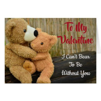 valentine s day card teddy bears sweet valentines day gifts gift