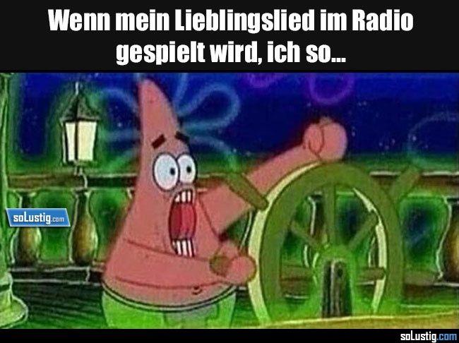 Wenn mein Lieblingslied im Radio gespielt wird, ich so... - #lied #mitsingen #radio #song