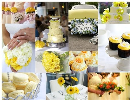 Yellow theme wedding