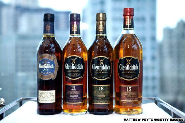 Whiskey: Glenfiddich Distillery, Dufftown, Scotland
