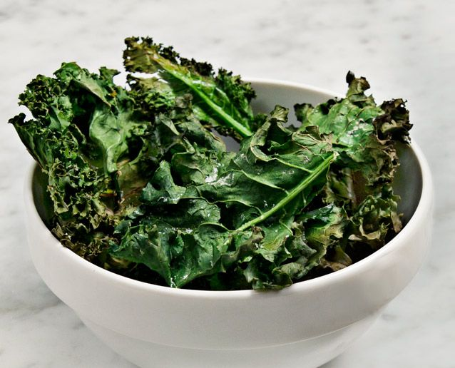 Skip the chips! Try these Kale Chips for a great healthy snack