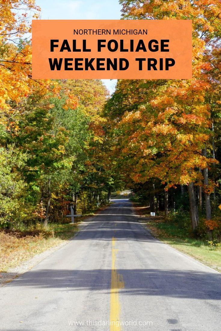 Traverse City Fall Colors The Most Beautiful Drive Through Northern Michigan Traverse City Michigan Fall Northern Michigan Traverse City Michigan