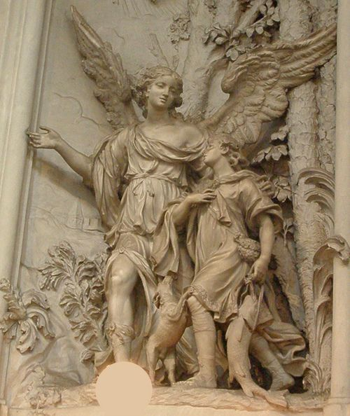 Tobias and the archangel Raphael