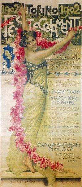 Torino 1902, Esposizione Internazionale Arte Decorativa