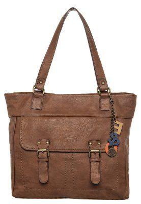 Even&Odd - Shopping bag - brun
