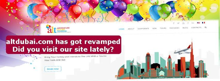 Alt Dubai website has got revamped. Did you visit our site lately?