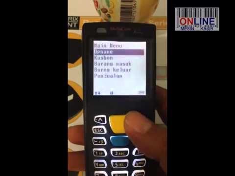 Barcode Scanner Portable Data Terminal Mobicom MPT 9001