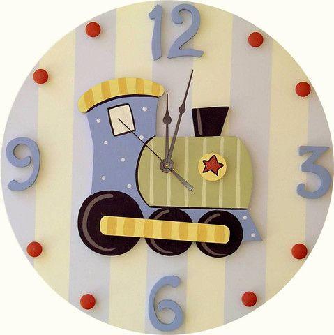 Train Wall Clock | Jack and Jill Boutique