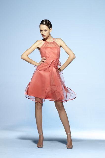 Collection soir Suzanne Ermann, robe Caline Unie.
