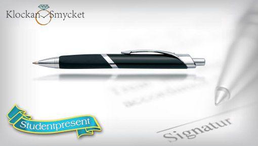 Penna med personligt ingraverat budskap