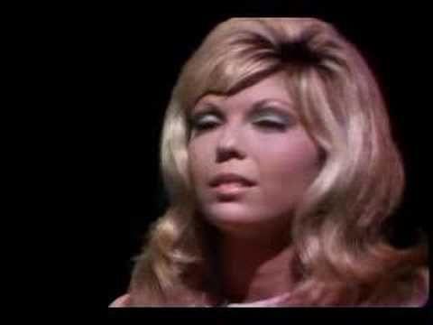 Bang bang- Nancy Sinatra Oh soooo dramatic and brings some old memories to mind!!!!!