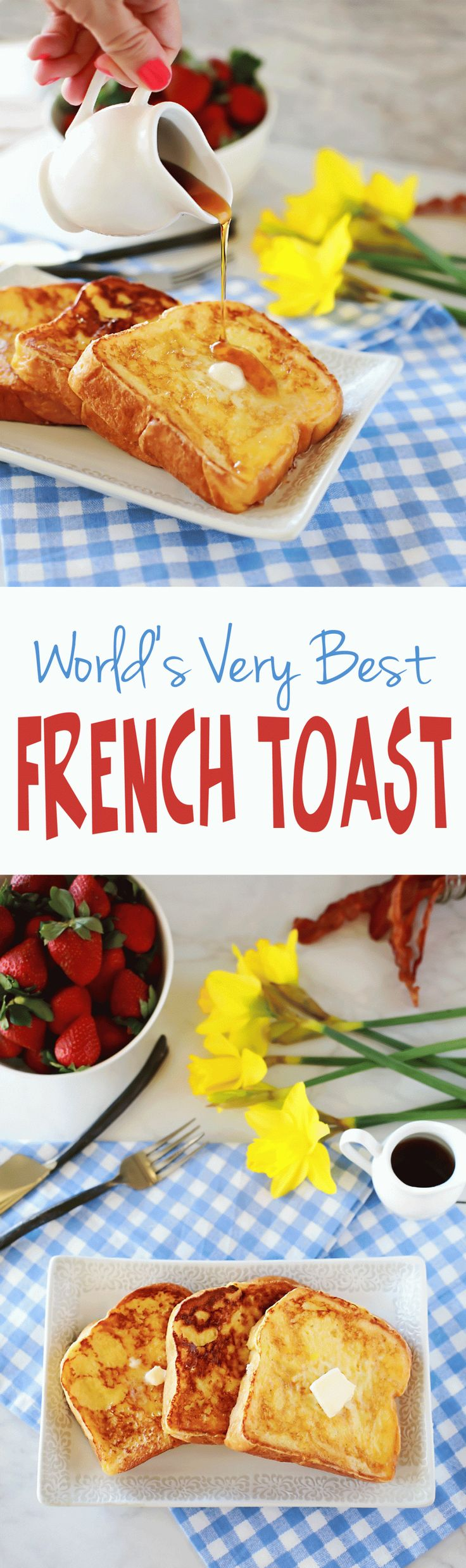 Amazing French Toast With Easy Thick Batter Recipe By Flirting With Flavor  This Was The