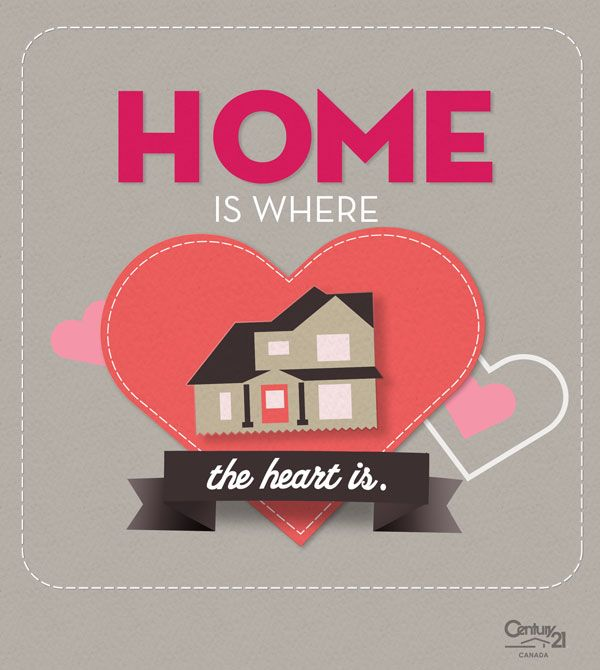 home is where the heart is real estate valentines card jenn real estate