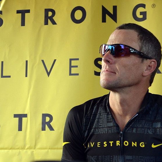 Lance Armstrong may have used p.e.d. but he had to ride the bike, he also is a great ambassador for cancer research.