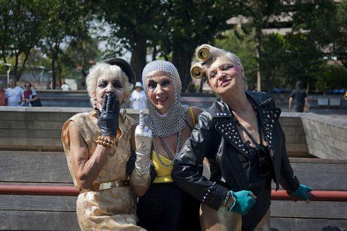 The Punk Rock Golden Girls