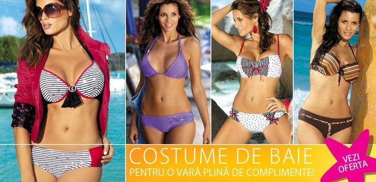 Surpriză: REDUCERE de 30% la toate costumele de baie din magazinul online. Shop 'til you drop! :D    Sharing is caring - http://www.tinar.ro/costume-de-baie.html ;)