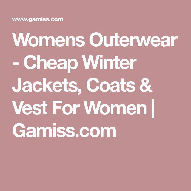 Womens Outerwear - Cheap Winter Jackets, Coats & Vest For Women   Gamiss.com
