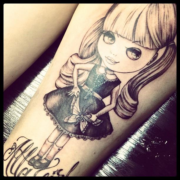 Tattoo de China Doll