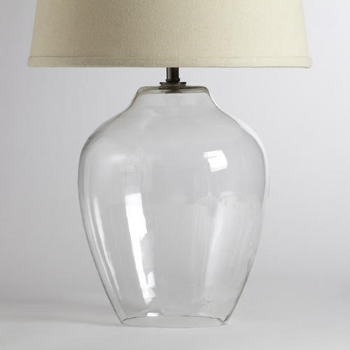 Clear Glass Table Lamp Base $49.99