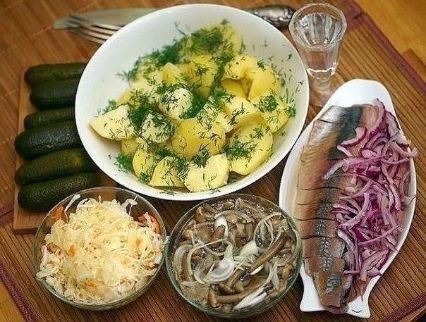 Русская кухня, здорово !