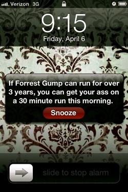 :-)Forests, Fit, Forrestgump, Alarm Clocks, Forrest Gump, Funny, So True, Mornings, Running Motivation