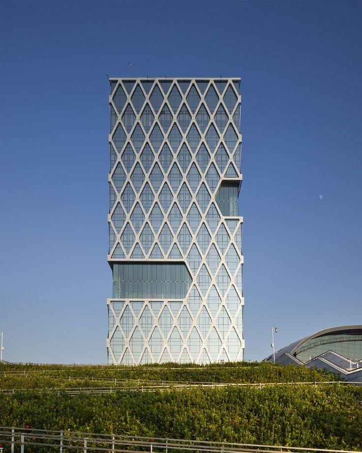 Hotel Kapok Shenzhen Bay Facade architecture
