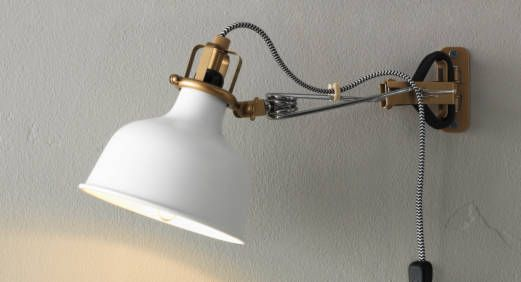 two wall mounted lamps IKEA Catalog 2015