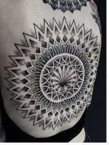 C H E S T E R (@oddtattooer) • Instagram photos and videos - Chester Lee, a tattoo artist at Oracle Tattoo studio in Singapore, is apparently an expert of sorts in blackout tattoos. His Instagram page features several photographs of completed works, earning him thousands of likes. Some of them are entirely black, while others consist of intricate black drawings of everyday objects or Gothic symbols on the negative space between black patches.