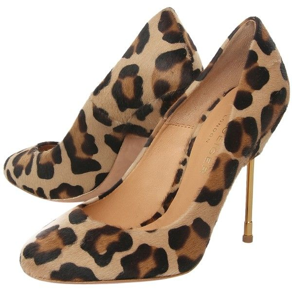 Kurt Geiger Elinda Hair-On Leather Animal Print Court Shoes, Beige... ($71) ❤ liked on Polyvore featuring shoes, pumps, heels, animal print, footwear, high heel pumps, high heel shoes, animal print shoes, pointed toe high heels stilettos and sports shoes
