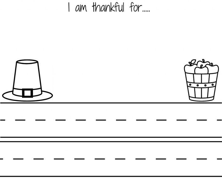 I am Thankful Thanksgiving Letter #freeprintable #freethanksgivingprintable #thanksgivingclassroom #thanksgivingcraft #eastthanksgiving #thanksgivingproject #iamthankful