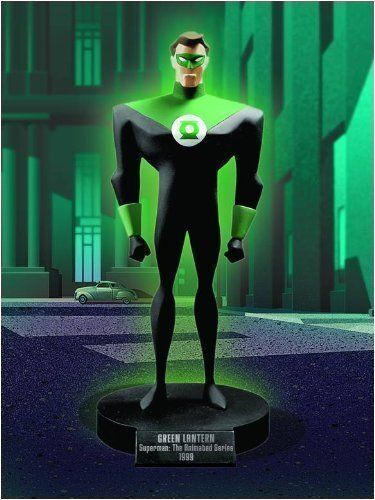 Classic Animation Series: Superman The Animated Series: Green Lantern Maquette by DC Direct. $150.00. Sculpted by John G. MathewsDebuting in 1996, Superman: The Animated Series carried on the high quality of animation and distinct character designs pioneered by the landmark Batman: The Animated Series. Kyle Rayner was chosen to be the Green Lantern of Earth - a stoic defender of justice who combats evil using an emerald Power Ring! This limited-edition, hand-pa...