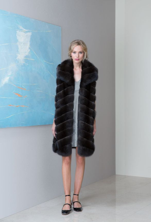 Шуба из соболя / Sable fur coat