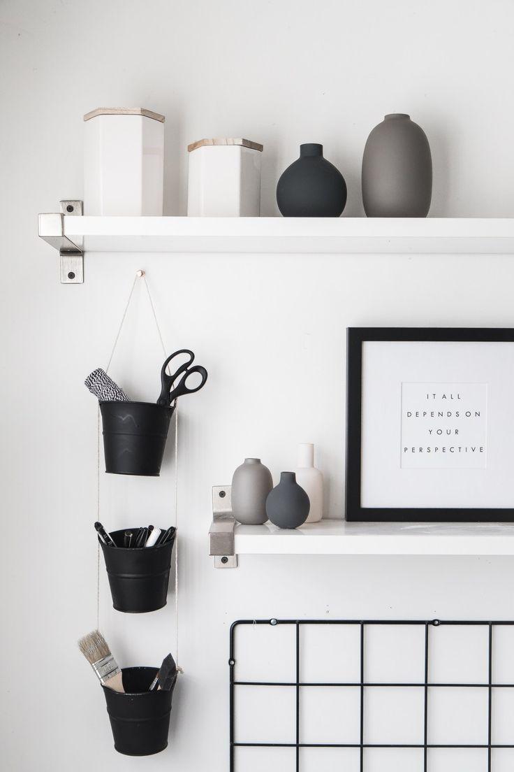 DIY Hanging Buckets Organizer 552 best Furniture