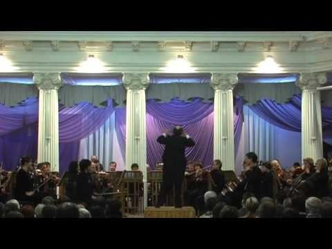 Shostakovich Symphony no 1 with Kharkov Philharmonic Orchestra