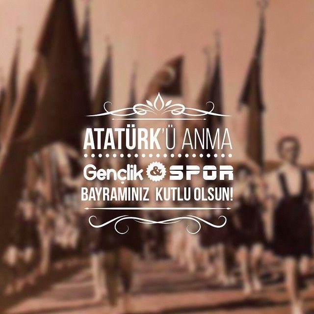 19 Mayıs Atatürk'ü Anma Gençlik ve Spor Bayramı'nız Kutlu Olsun! #istshopfest #istanbulukeşfet