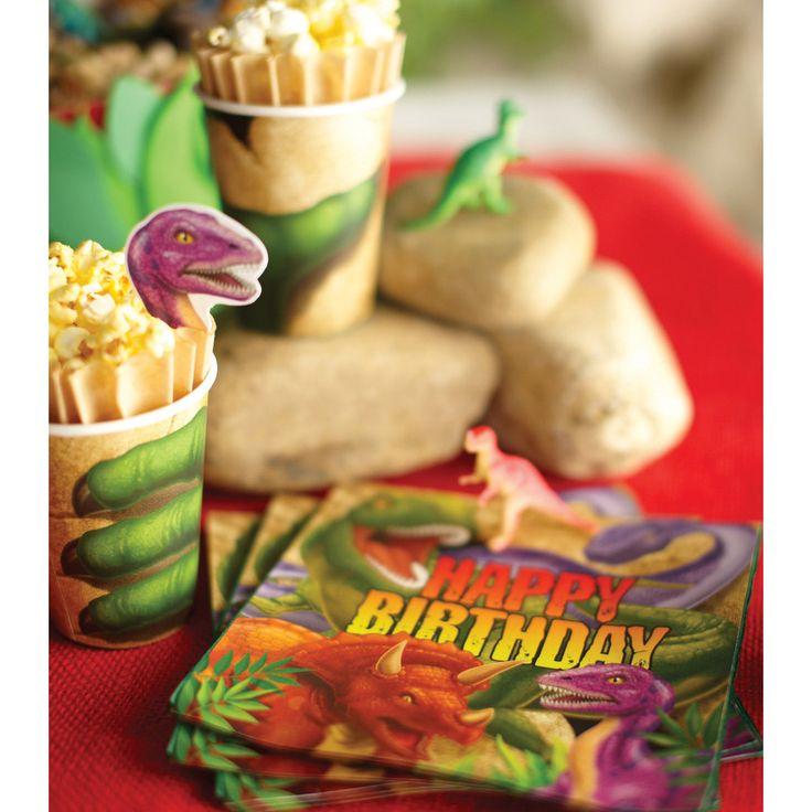 Decoreer de feestruimte tot de Oertijd waarin de reusachtige dino's leefden!  http://www.kidsfeestje.nl/feestartikelen/ff_606_dinosaurus_40.html