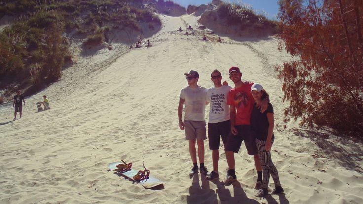 Sand Boarding in Benoni...