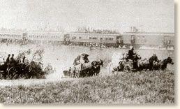 Oklahoma land rush September 16, 1893 known as the Cherokee strip.