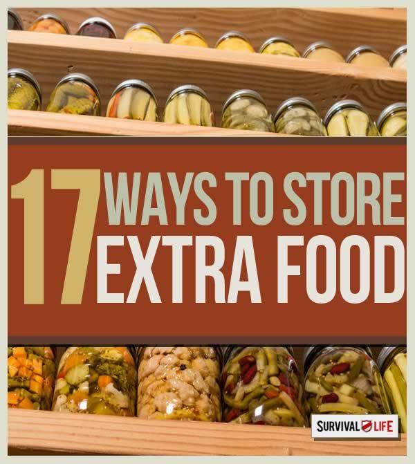17 Clever Food Storage Tricks  --By Dan Carpenter on September 22, 2014