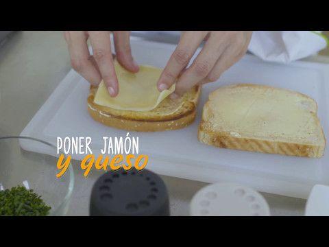 Sándwich de Huevos Santa Anita - YouTube