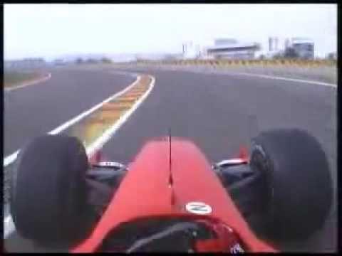 Schumacher Test Ferrari @ Fiorano