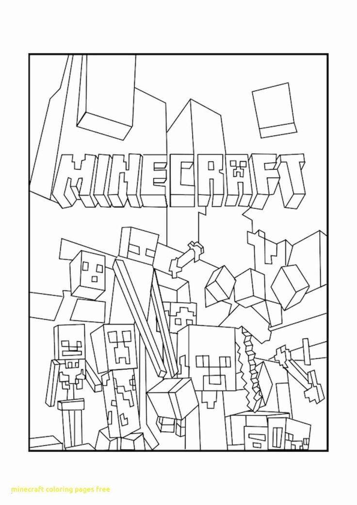 minecraft ausmalbilder drucken  59 einzigartig