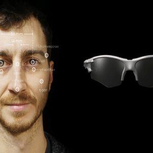顔の3Dデータで作る17gのサングラスSkelmet Falconが登場