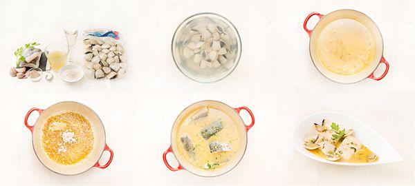 Merluza con mariscos en salsa verde | Demos la vuelta al día