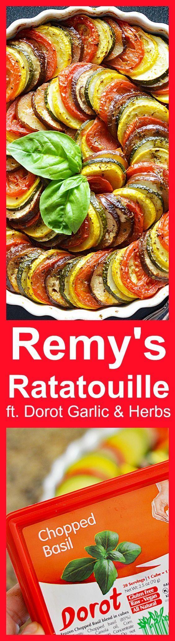 Remy's Ratatouille featuring @MyDorot Garlic & Herbs #ElevateYourPlate #ad https://ooh.li/9ac3355