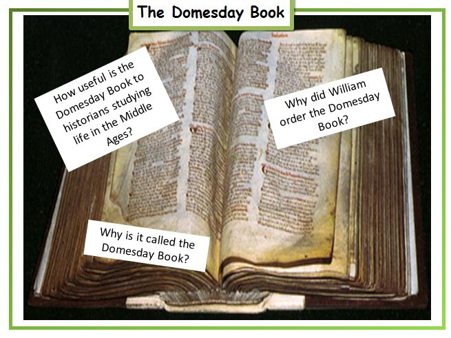 History How useful is the Domesday Book to a historian? HEXAGON sorting activity