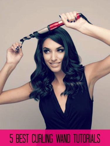 5 Best Curling Wand Tutorials | GirlsGuideTo