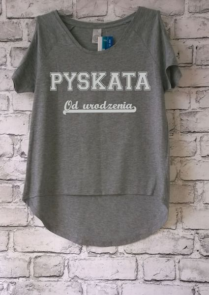 PYSKATA in Grey Cut-Out Tee w soulosophy na DaWanda.com