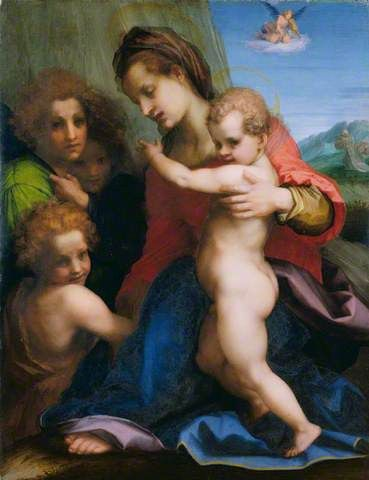 Your Paintings - Andrea del Sarto paintings